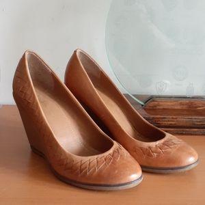 Bcbgeneration Wedge Shoes Leather 7.5